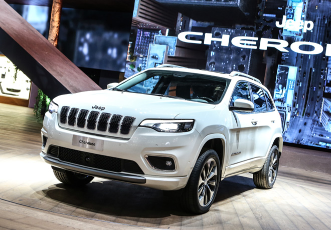 Jeep - Salon de Ginebra 2018 - Cherokee