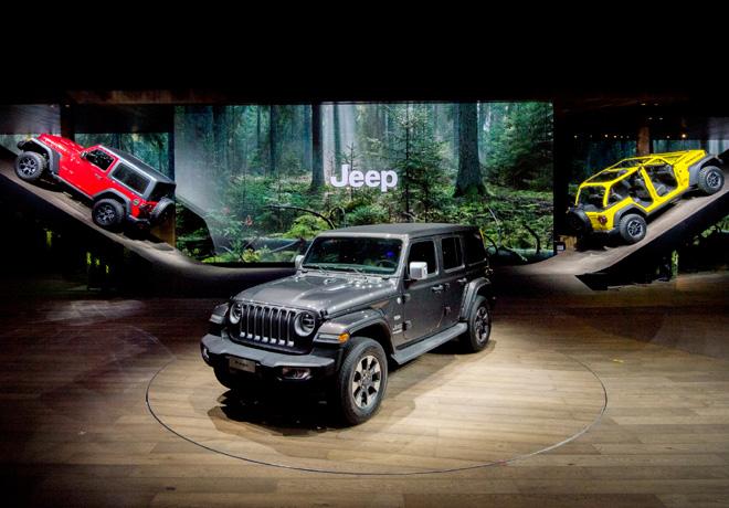 Jeep - Salon de Ginebra 2018 - Wrangler