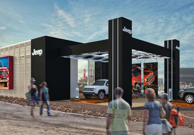 Jeep en Expoagro