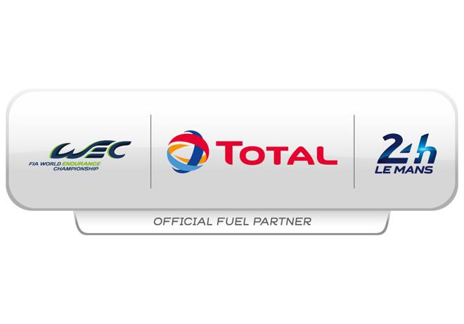 Logo WEC - Total - 24hs Le Mans