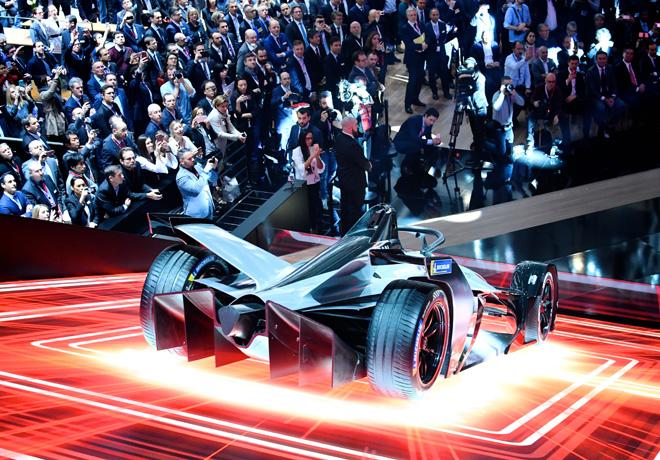 Nissan presenta el prototipo del vehiculo que debutara en la Formula E 1