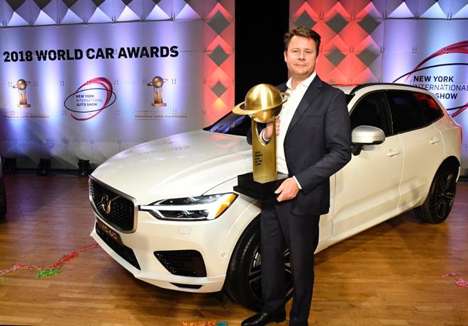 Nuevo Volvo XC60 gano el premio al Mejor Auto del Anio 2018