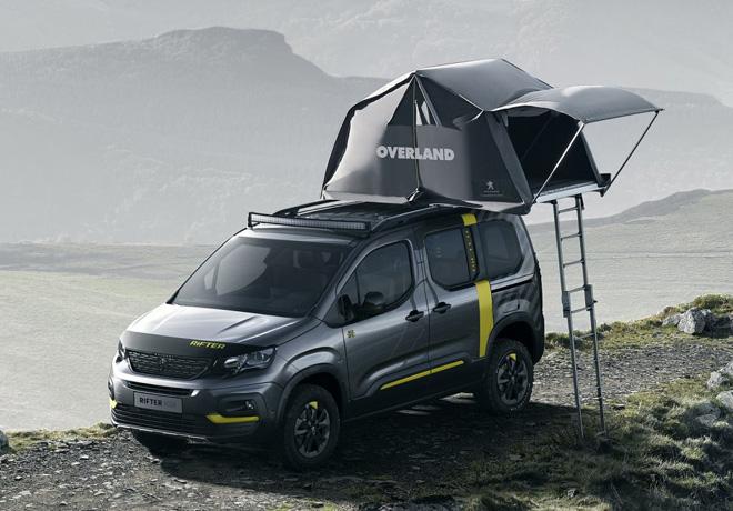 Peugeot - Salon de Ginebra 2018 - Rifter 4x4 Concept