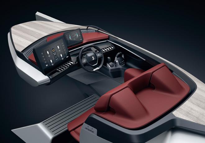 Peugeot - Salon de Ginebra 2018 - Sea Drive Concept by Beneteau