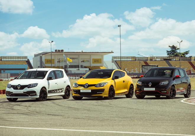 Renault Sport Argentina es numero 1 en ventas globales de vehiculos RS