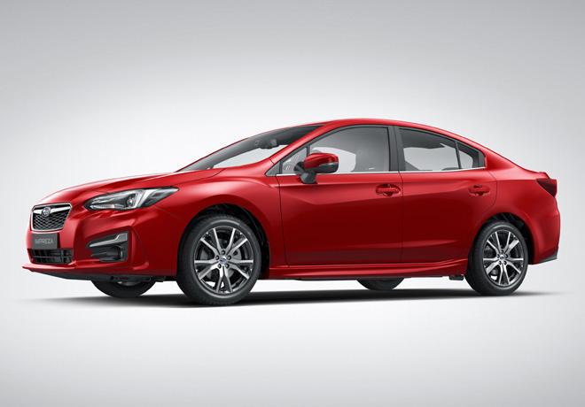 Subaru All-New Impreza Sedan 1