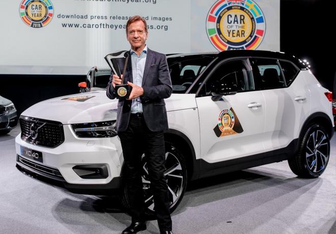 Volvo XC40 elegido el Auto del Anio 2018 en Europa