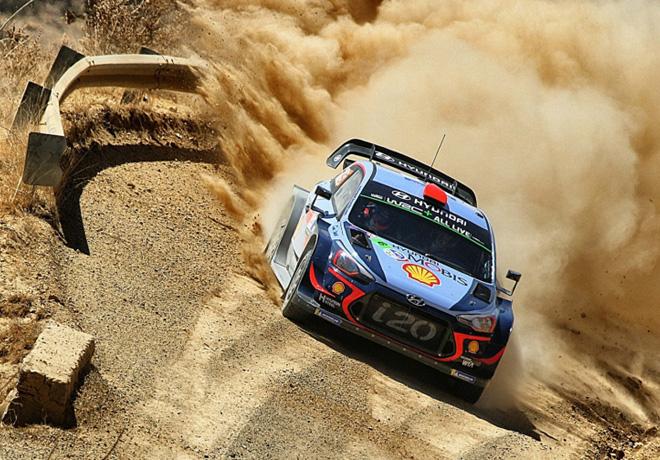 WRC - Mexico 2018 - Dia 1 - Dani Sordo - Hyundai i20 WRC