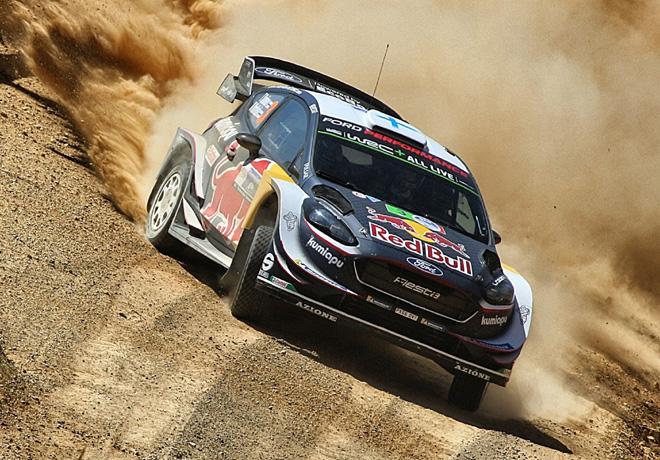 WRC - Mexico 2018 - Dia 2 - Sebastien Ogier - Ford Fiesta WRC
