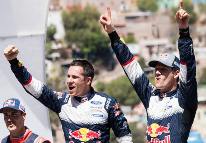 WRC - Mexico 2018 - Final - Sebastien Ogier en el Podio