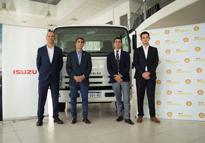 Alianza entre Shell Lubricantes e Isuzu Argentina.