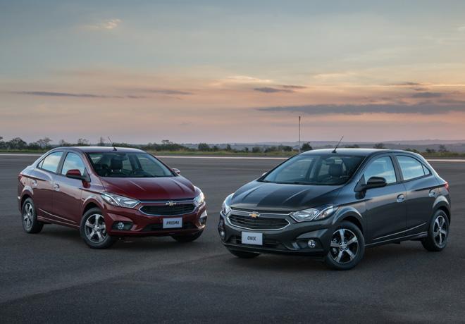 Chevrolet Prisma y Onix