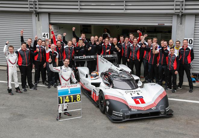 El Porsche 919 Hybrid Evo consigue el record en la pista en Spa-Francorchamps - Belgica