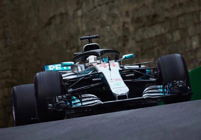 F1 - Azerbaiyan 2018 - Carrera - Lewis Hamilton - Mercedes GP
