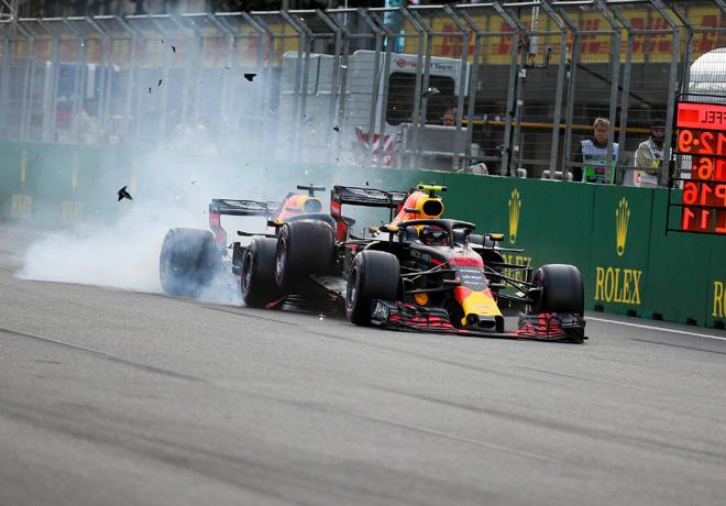 F1 - Azerbaiyan 2018 - Carrera - Max Verstappen y Daniel Ricciardo - Red Bull Racing