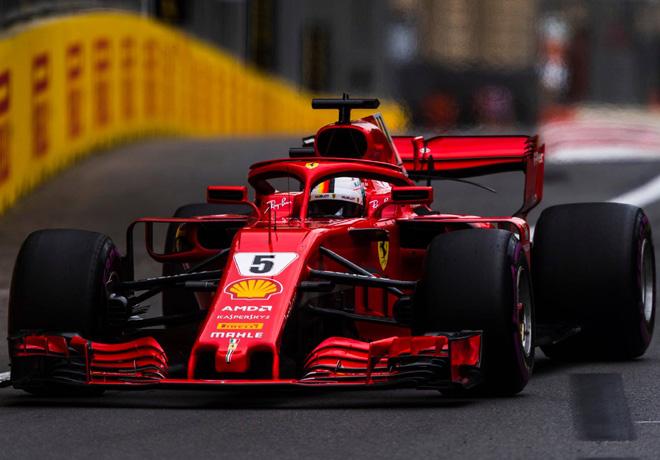 F1 - Azerbaiyan 2018 - Clasificacion - Sebastian Vettel - Ferrari