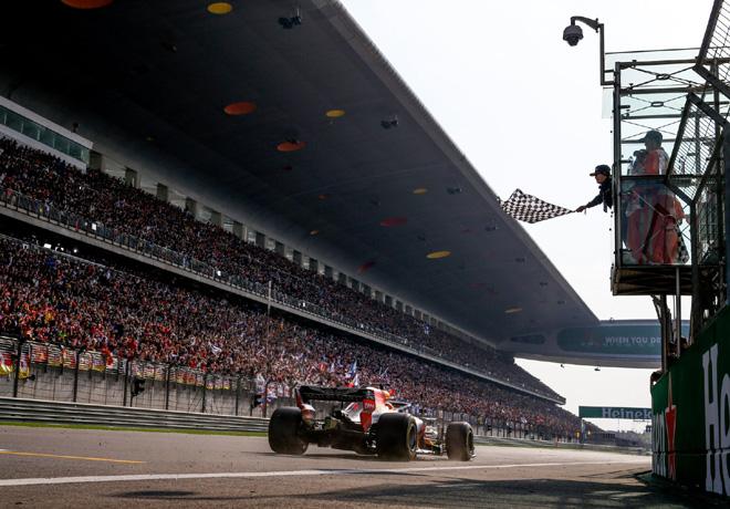 F1 - China 2018 - Carrera - Daniel Ricciardo - RedBull