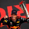 F1 - China 2018 - Carrera - Daniel Ricciardo en el Podio