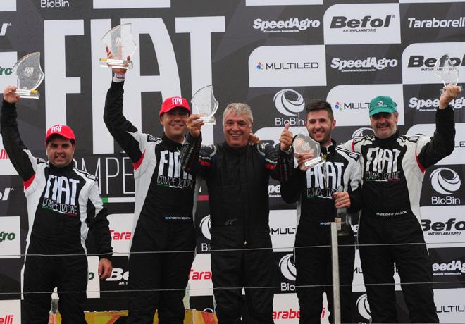 Fiat Competizione - Rosario 2018 - Carrera 2 - El Podio