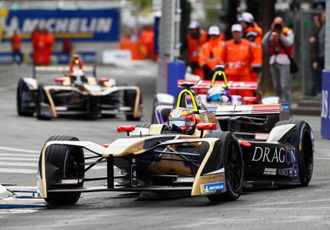 Formula E - Paris - Francia 2018 - Carrera - Jean-Eric Vergne - Techeetah