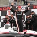 IndyCar - Birmingham 2018 - Carrera - Josef Newgarden en el Podio