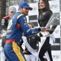 IndyCar - Long Beach 2018 - Carrera - Alexander Rossi en el Podio