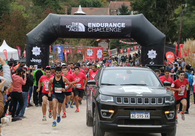 Jeep presente en la The North Face Endurance Challenge 2018.