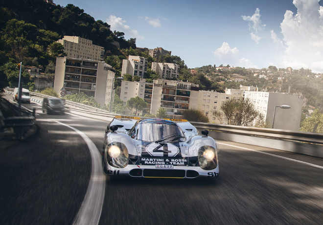 Legendario auto de carreras Porsche utilizado para uso diario en Monaco 3