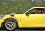 Maria Sharapova conduce a fondo el Porsche 911 GT2 RS 3