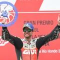 MotoGP - Termas de Rio Hondo 2018 - Cal Crutchlow en el Podio