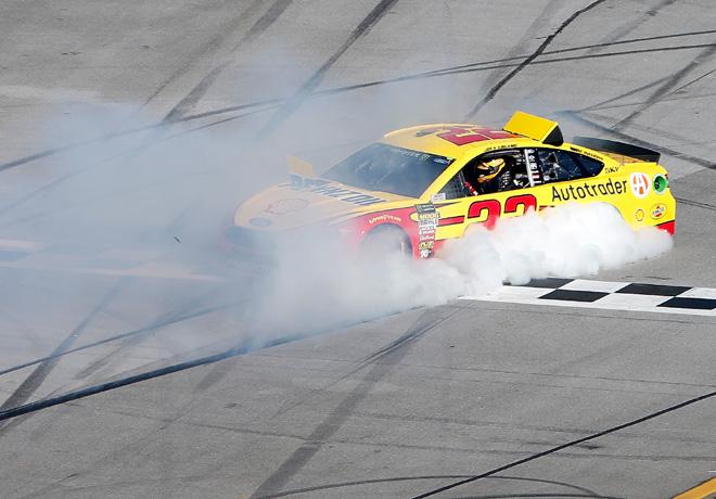 NASCAR - Talladega 2018 - Joey Logano - Ford Fusion