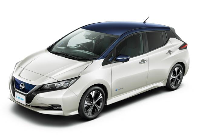 Las ventas de Nissan LEAF superan las 100.000 unidades en Japón.
