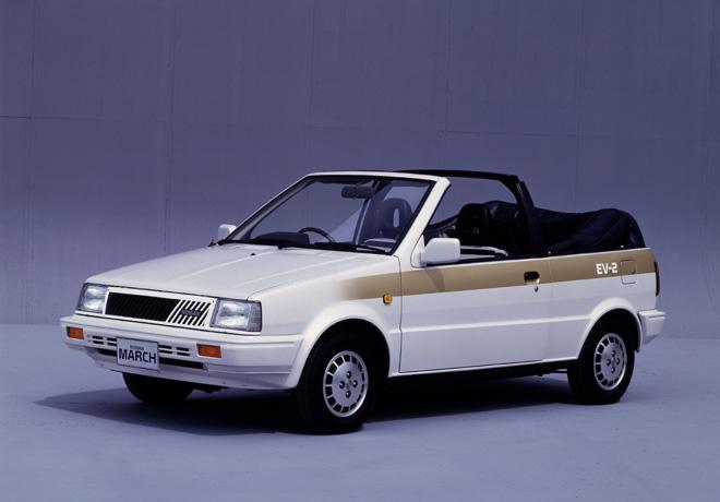 Nissan March EV-2 de 1987