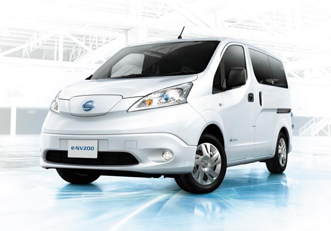 Nissan presenta la nueva generación e-NV200 con batería de mayor capacidad.