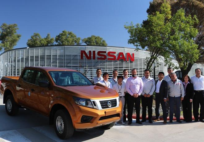 Nissan prueba los primeros prototipos de la Frontier producida en Cordoba