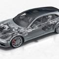 Porsche Panamera Turbo Sport Turismo - PTM con embrague multidisco controlado hidráulicamente