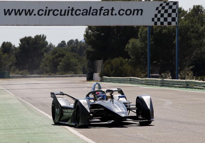 Fórmula E: Prueba exitosa para el BMW iFE.18 en Calafat.
