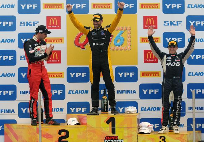 STC2000 - Rosario 2018 - Carrera 1 - Matias Rossi - Facundo Ardusso - Mariano Werner en el Podio