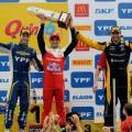 STC2000 - Rosario 2018 - Carrera 2 - Agustin Canapino - Facundo Chapur - Facundo Ardusso en el Podio