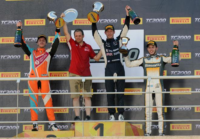 TC2000 - Concepcion del Uruguay - Entre Rios 2018 - Carrera Final - Jose Manuel Sapag - Marcelo Ciarrochi - Santiago Mallo en el Podio