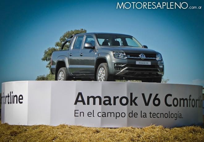 VW - Presentacion Amarok V6 Comfortline 3