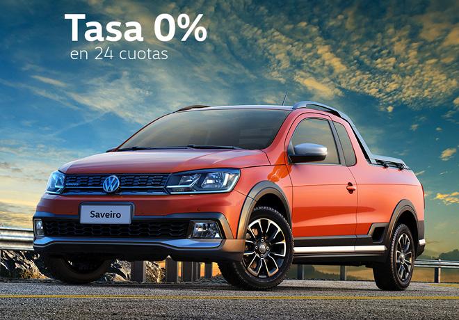 VW Saveiro - Tasa cero