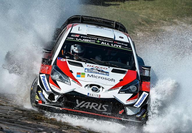 WRC - Argentina 2018 - Dia 1 - Ott Tanak - Toyota Yaris WRC