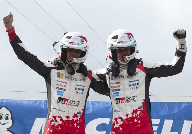 WRC - Argentina 2018 - Final - Ott Tanak en el Podio