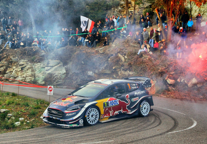 WRC - Corcega 2018 - Dia 2 - Sebastien Ogier - Ford Fiesta WRC