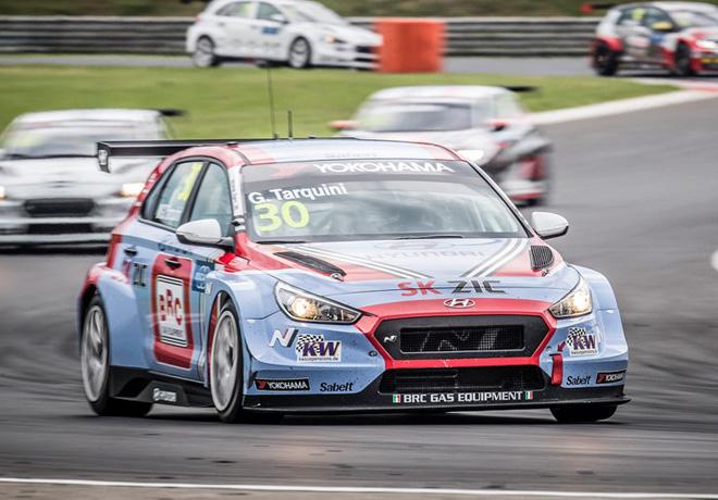 WTCR - Hungaroring - Hungria 2018 - Carrera 3 - Gabriele Tarquini - Hyundai i30 N TCR
