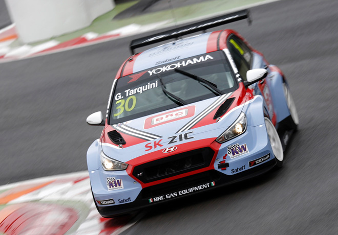 WTCR - Marrakech - Marruecos 2018 - Carrera 1 - Gabriele Tarquini - Hyundai i30 N TCR