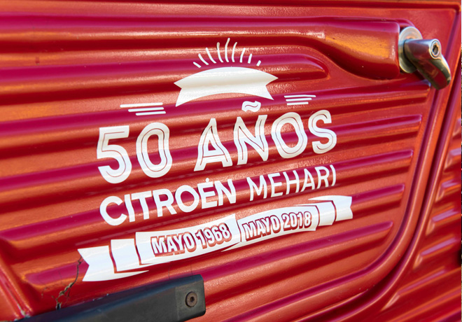 Citroen Mehari cumplio 50 anios 2