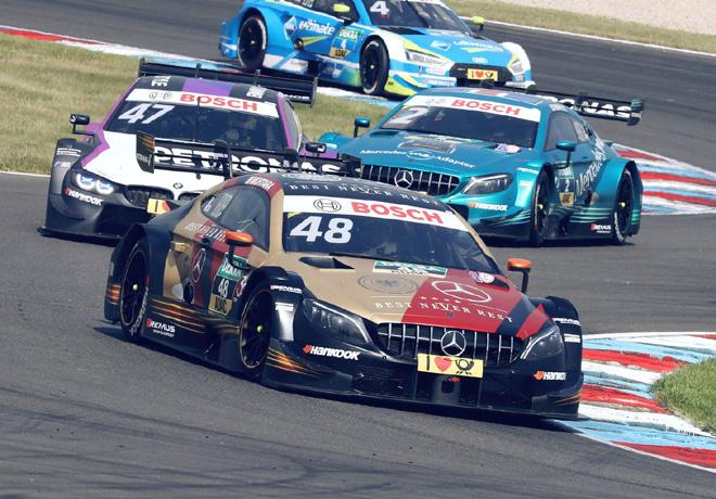 DTM - Lausitzring 2018 - Carrera 1 - Edoardo Mortara - Mercedes-AMG C 63 DTM