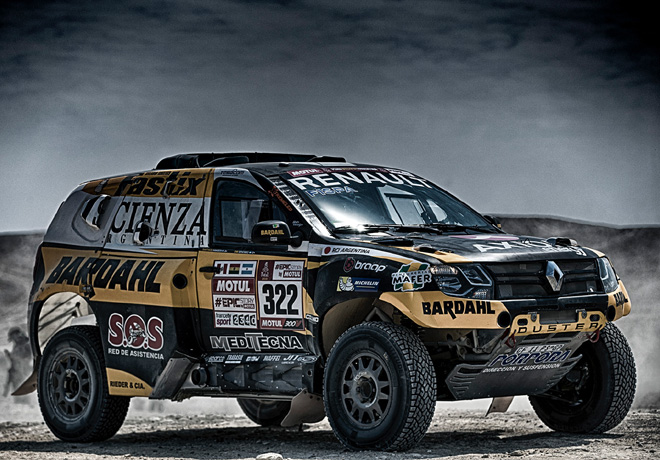 Emiliano Spataro - Renault Duster Dakar Team